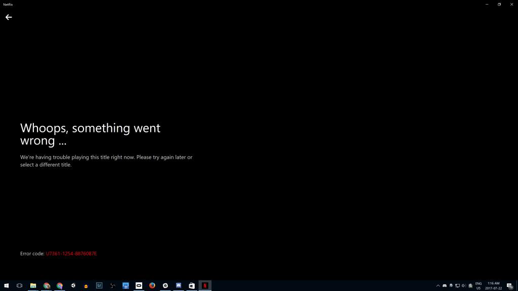 Netflix error code M7353-5101
